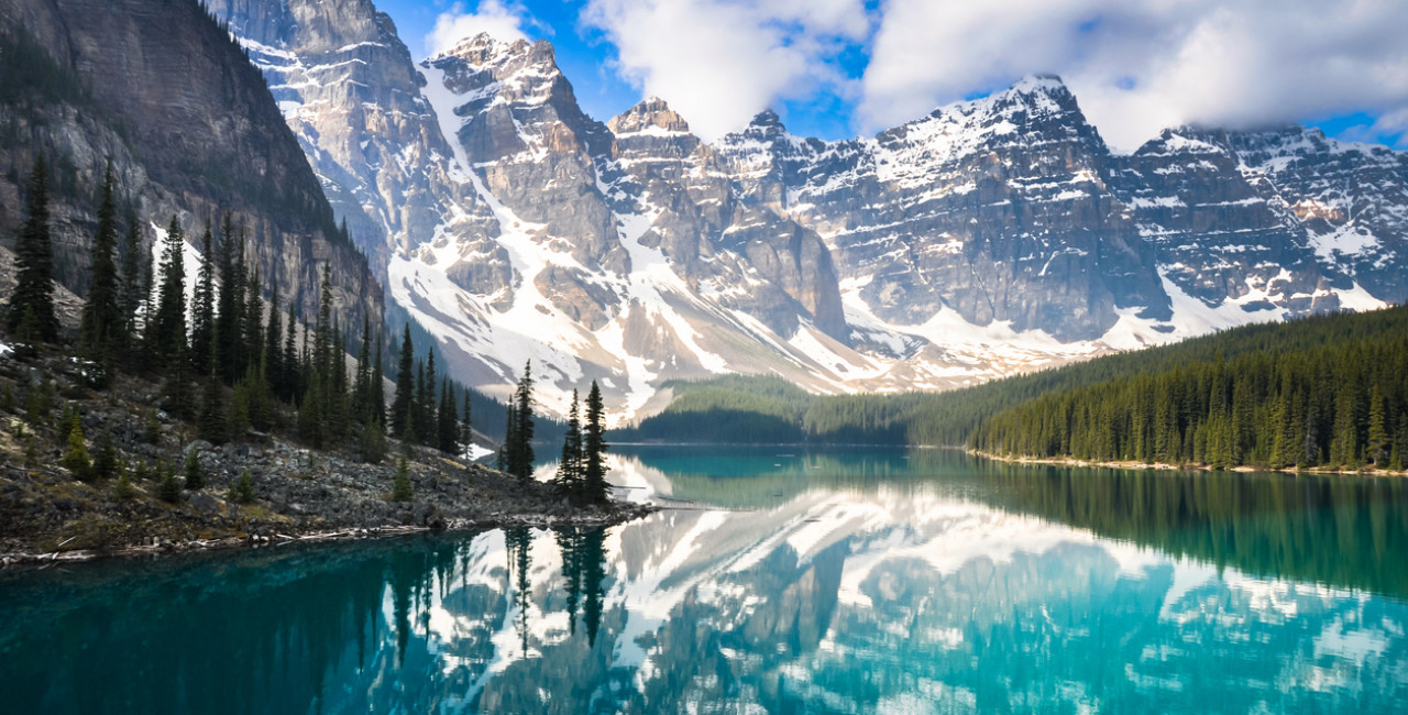 Canada's Rocky Mountains via iStock / AlbertoLoyo; Canada is one of the eight countries from which the Czech Republic will allow restriction-free travel as of July 1