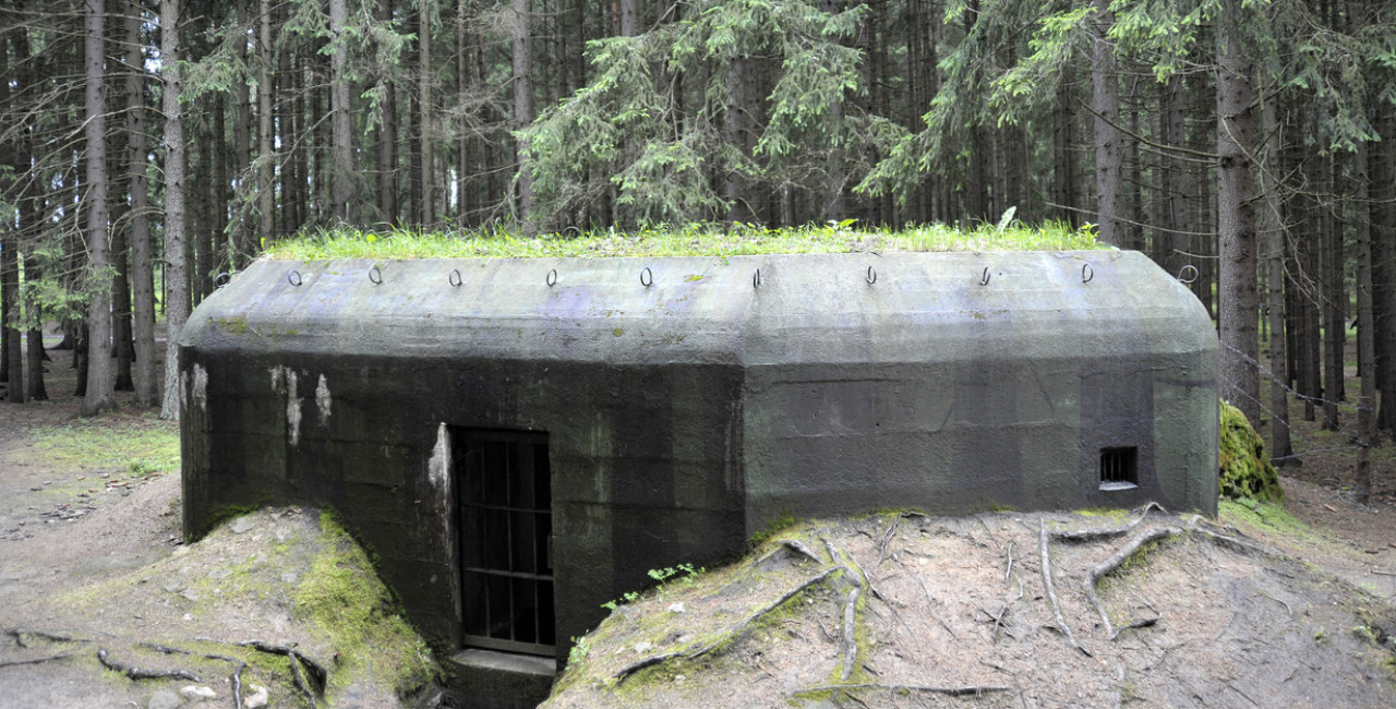 Cement bunker in the Czech wilderness via iStock / Antenore (illustrative image)