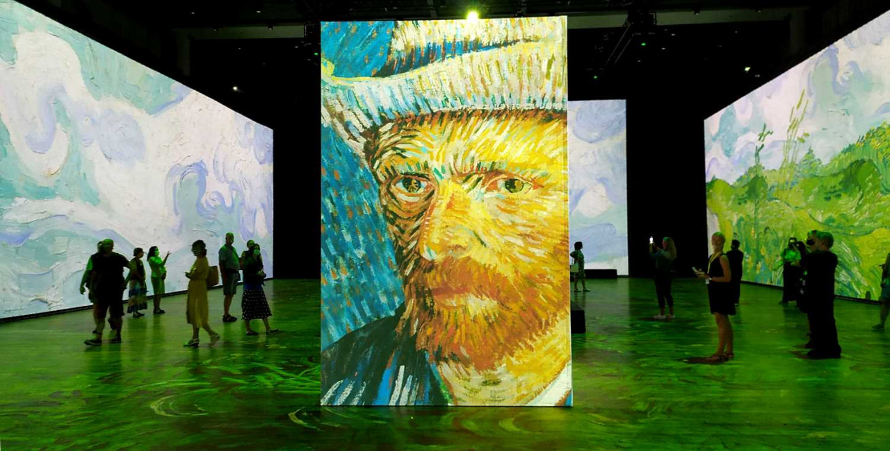 Van Gogh in Once Upon A Time, Van Gogh, Monet, Renoir…/ photo via Raymond Johnston
