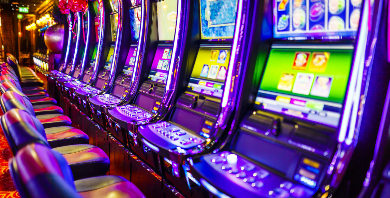 Electronic slot machines via iStock / mbbirdy