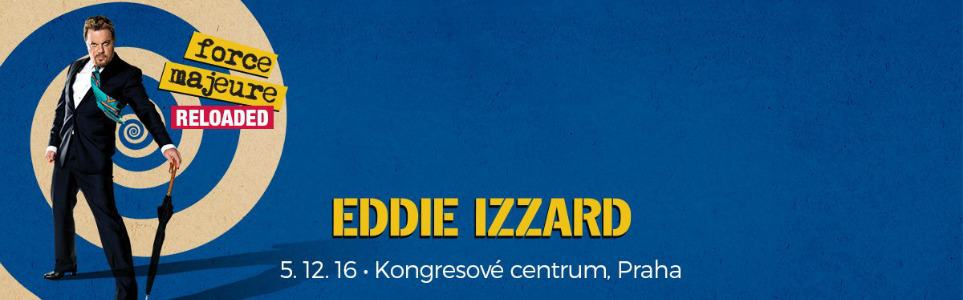 CLOSED: 2 x Tickets to Eddie Izzard