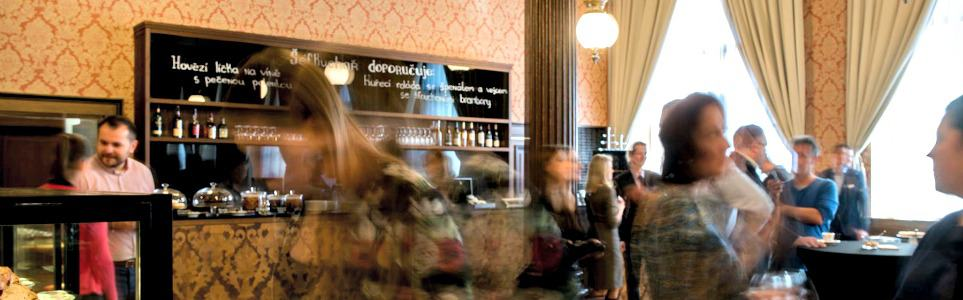Historic Rudolfinum Cafe Re-Opens after Renovations