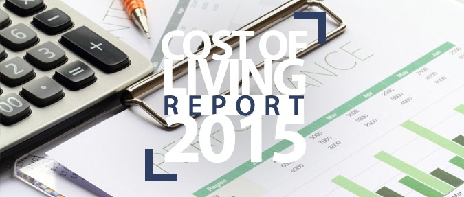 Cost of Living Report: 2015 Edition