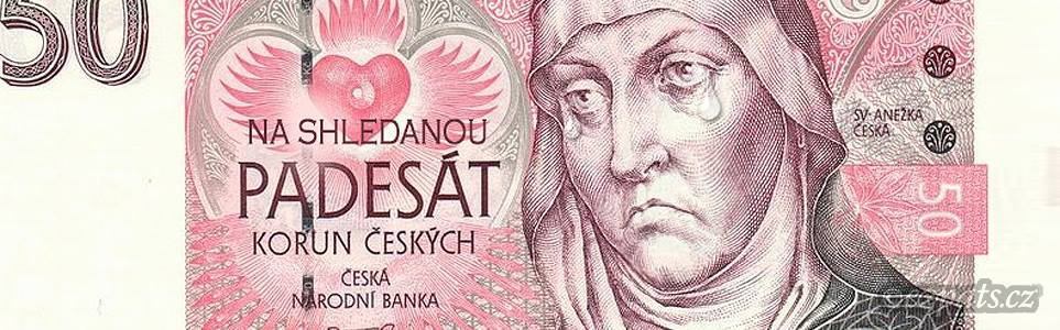 Who's that Mysterious Bohemian Princess on the 50 CZK Note?