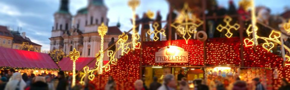 Prague Holiday Market Madness!