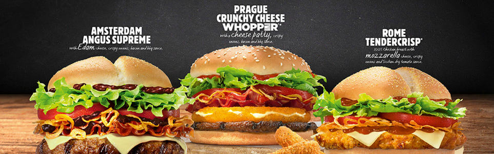 UK Burger King Offers Fried Cheese Prague Whopper
