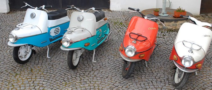 Vintage Scooters: Velorex and Čezeta