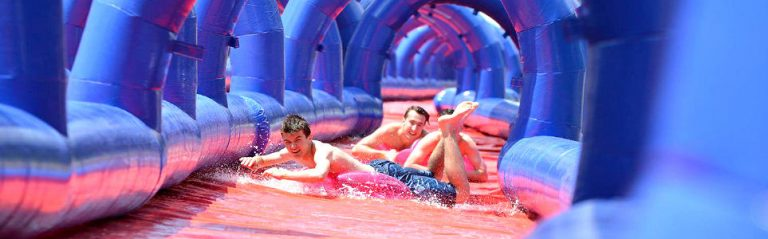 300-Meter Water Slide to Tour Czech Republic