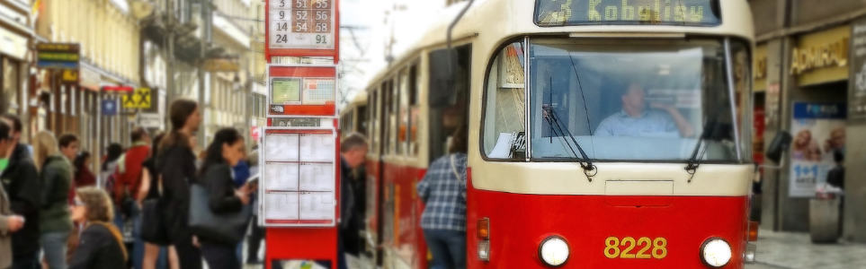 Prague Thieves Steal New Tram Timetables