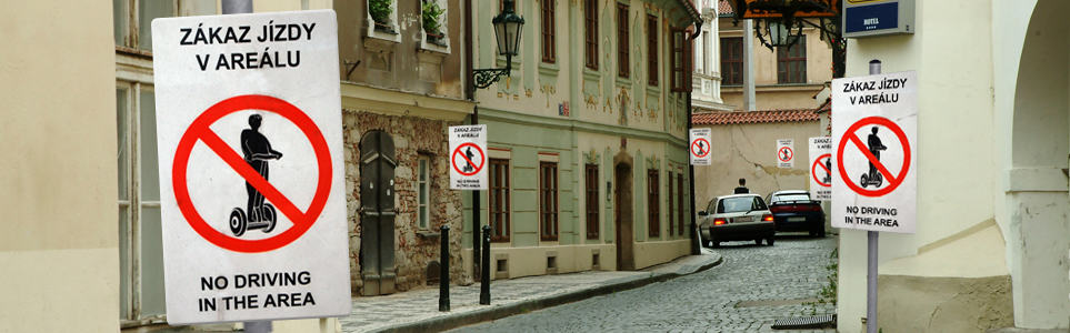 Prague's No Segway Signs to Come in November