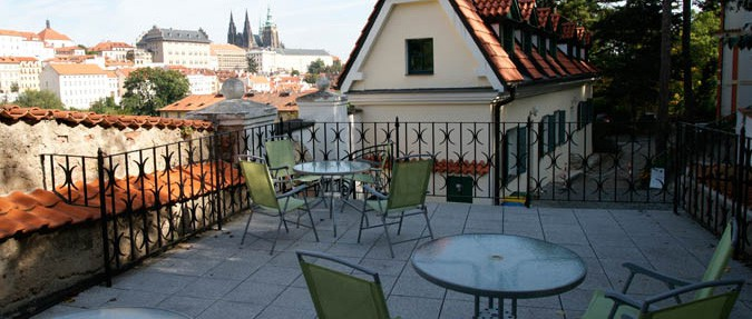 Prague's 10 Best Cafe Gardens