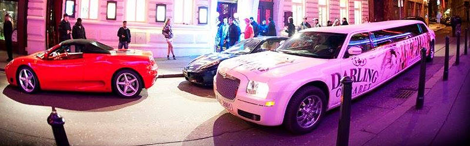 Darling Cabaret Limo Stirs Up Controversy in Old Town