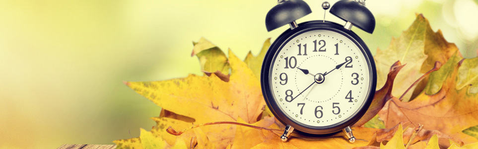 Reminder: Turn Back Your Clocks This Weekend