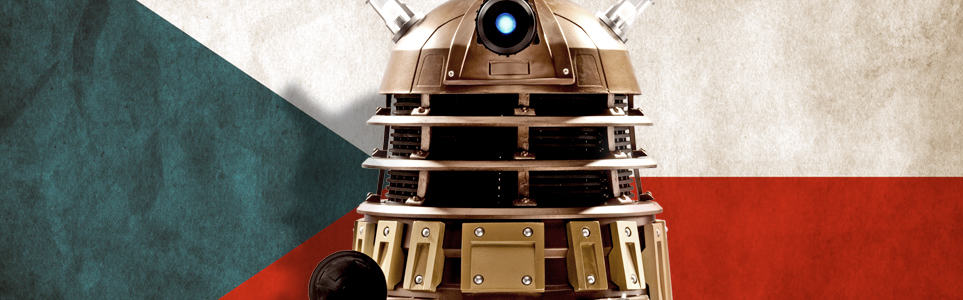 Are the Daleks from Doctor Who Czech?