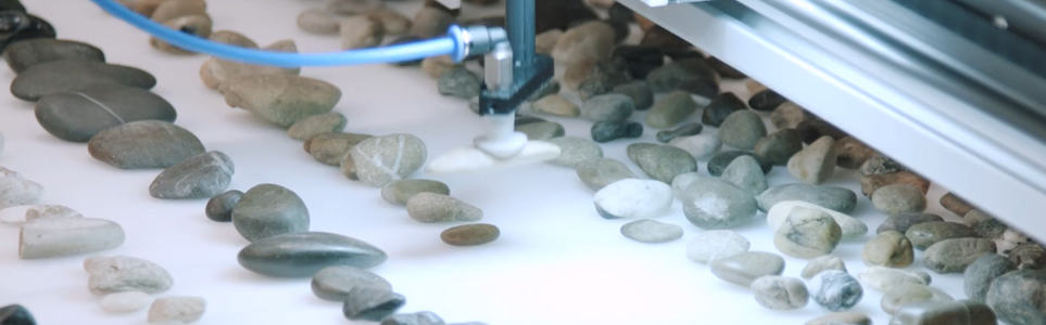 Czech Artist Creates Beautiful, Pointless Rock-Sorting Machine