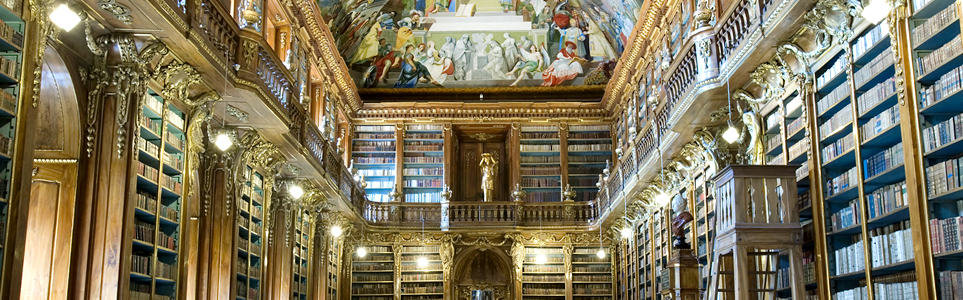 Visit One of the World's Most Beautiful Libraries in Prague