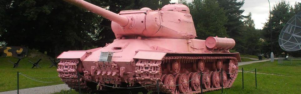 Sculptor David Černy's Pink Tank Turns Twenty Five