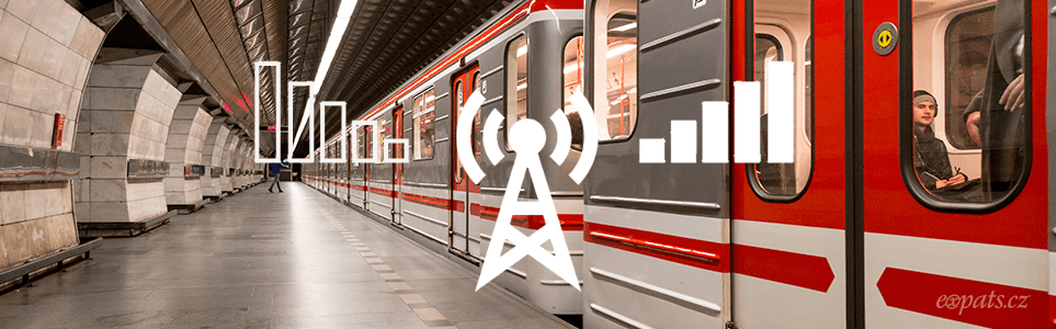 Entire Prague Metro Network to Get Mobile Coverage