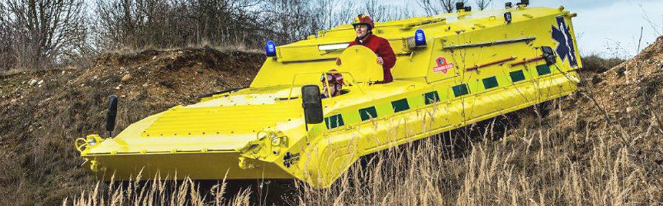 "Czech Company Unveils New ""Ambulance Tank"""