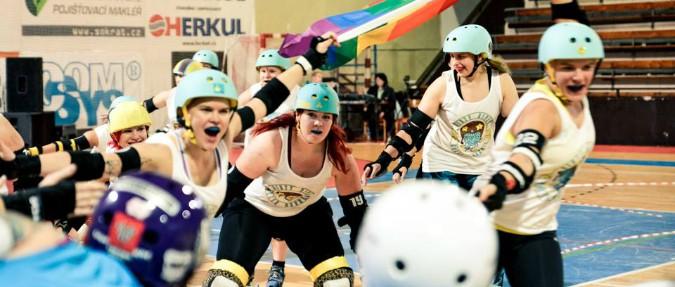 The Wheel Deal: Prague's First Roller Derby Team