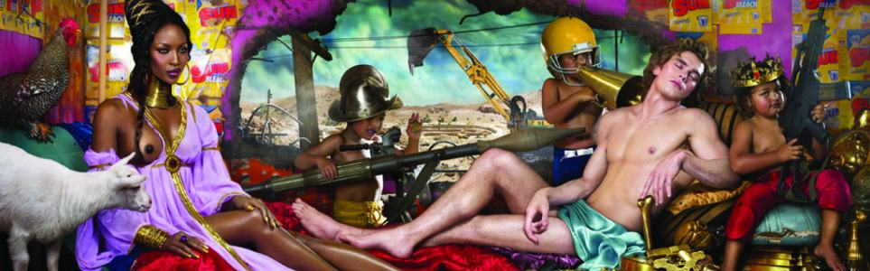 Controversial Artist David LaChapelle Returns to Prague