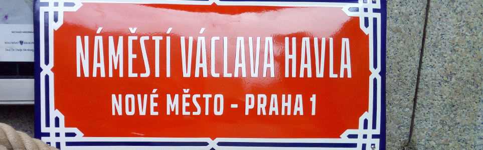 National Theatre Piazzetta Renamed Václav Havel Square