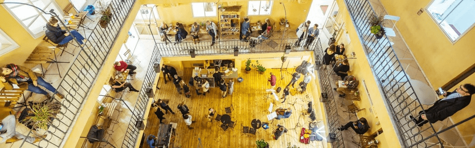 Prague's Empty Town Hall Houses Transformed into Co-Working Space