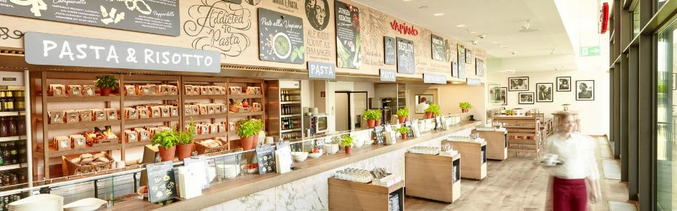 Pizza, Pasta, and a Vertical Herb Garden: Vapiano Comes to Prague