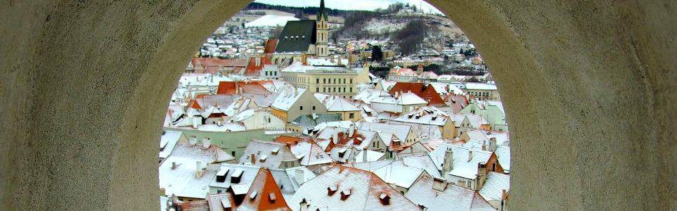Český Krumlov among 10 Most Instagrammed Winter Wonderlands