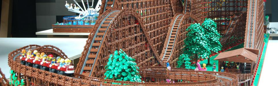 World's Largest Lego Roller Coaster Now On Display In Prague