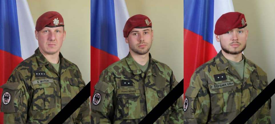 Prague to Honor Czech Soldiers Killed in Afghanistan