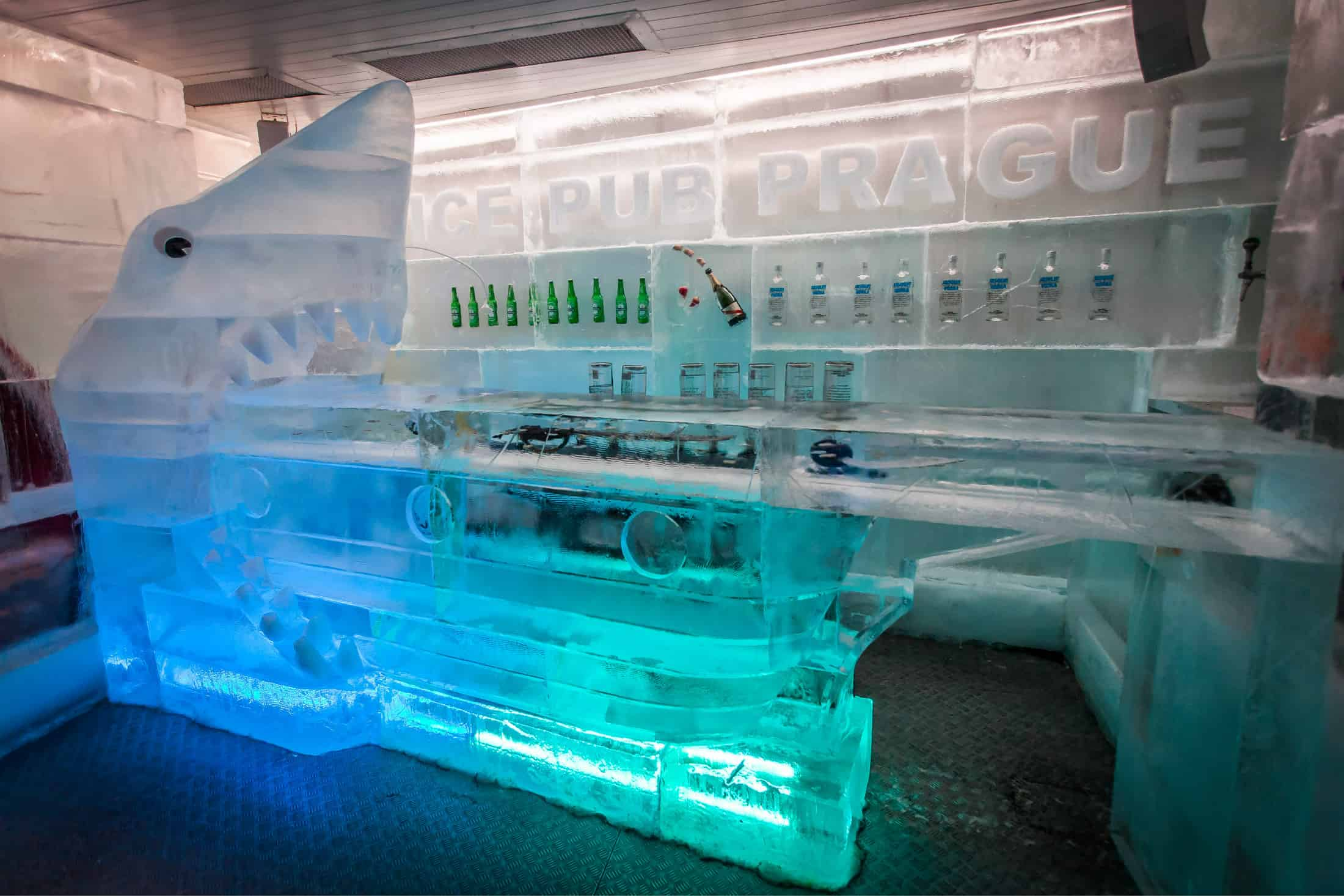 Beat the Summer Heat at Prague's Only Sub-Zero Bar!