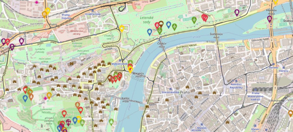 This Handy Map Shows Where You Can Pick Free Fruit in Prague