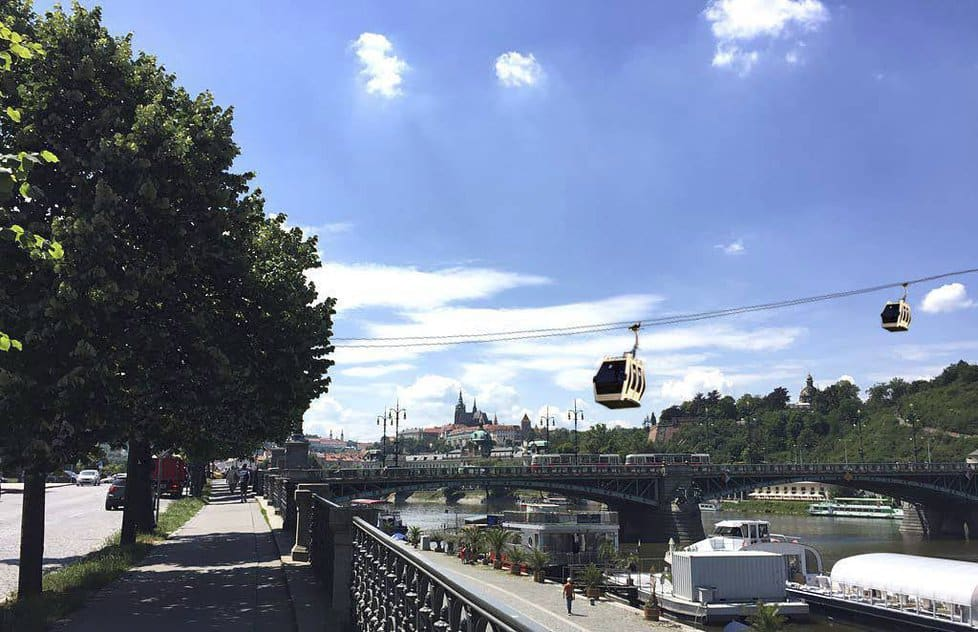 Prague Officials Nix Plans for Cable Car from Old Town to Letná