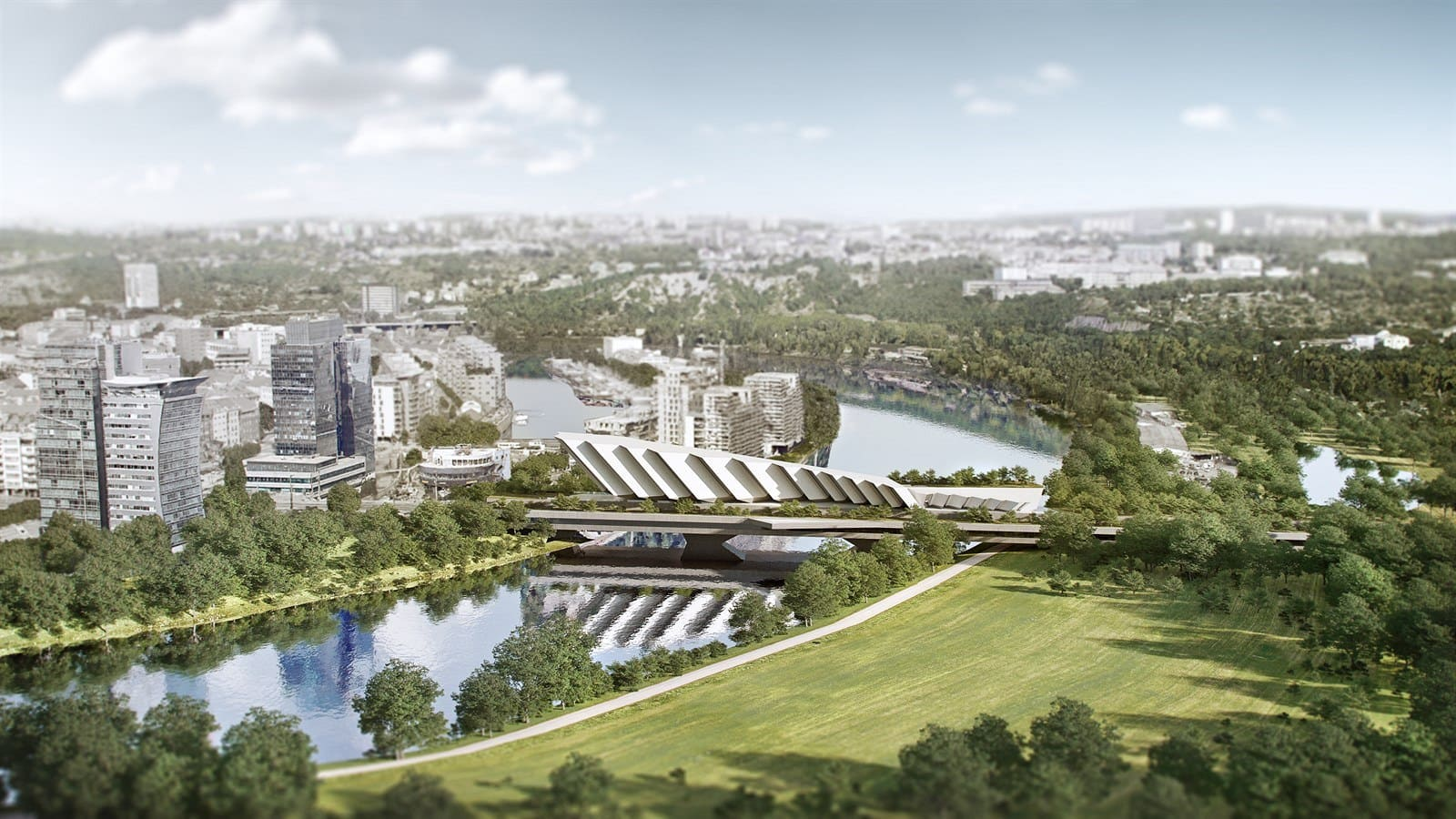 Prague's Libeň Bridge to Become Luxury Apartment Complex?