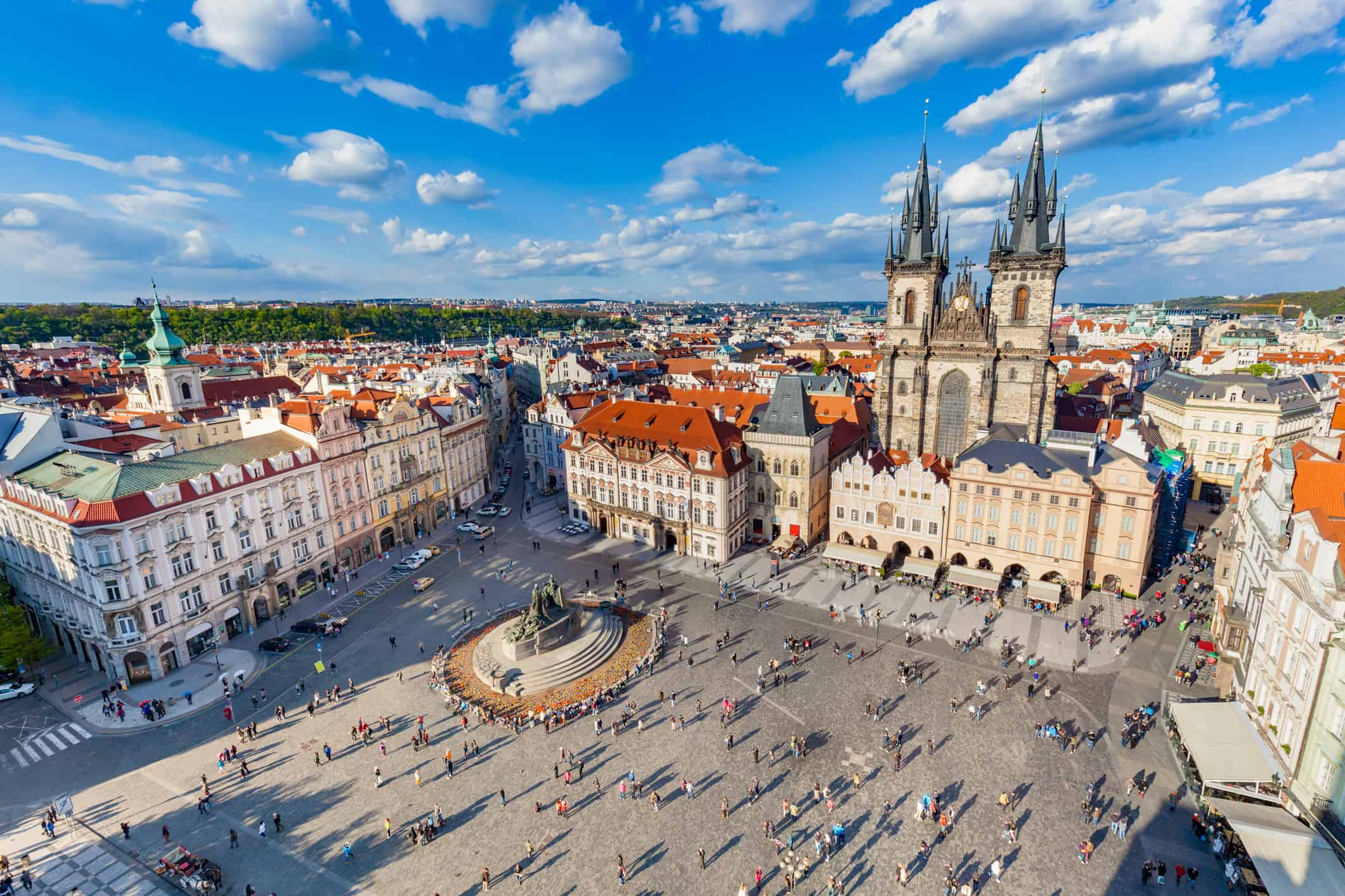 Large-Scale Festival In Prague's Old Town to Mark Czechoslovak Centennial