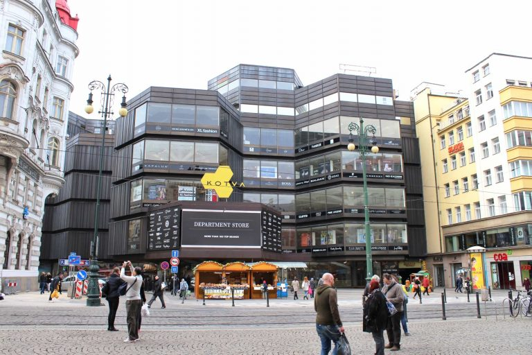 Prague's Kotva Department Store Declared Cultural Monument