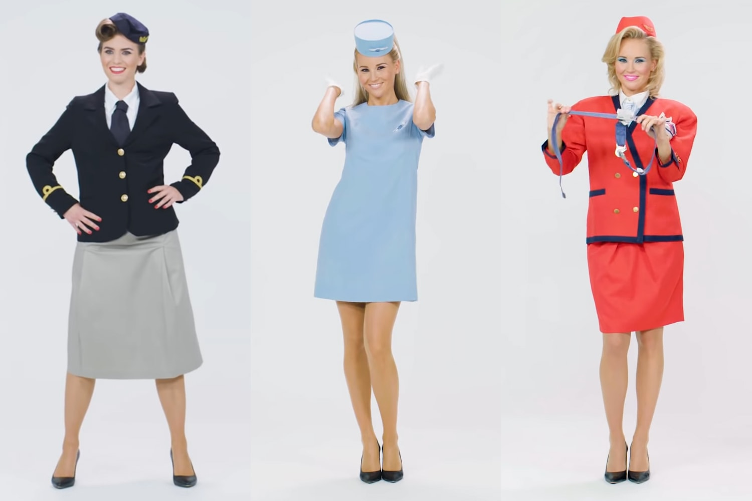 VIDEO: Czech Airlines Celebrates 95 Years of Cabin Crew Uniforms
