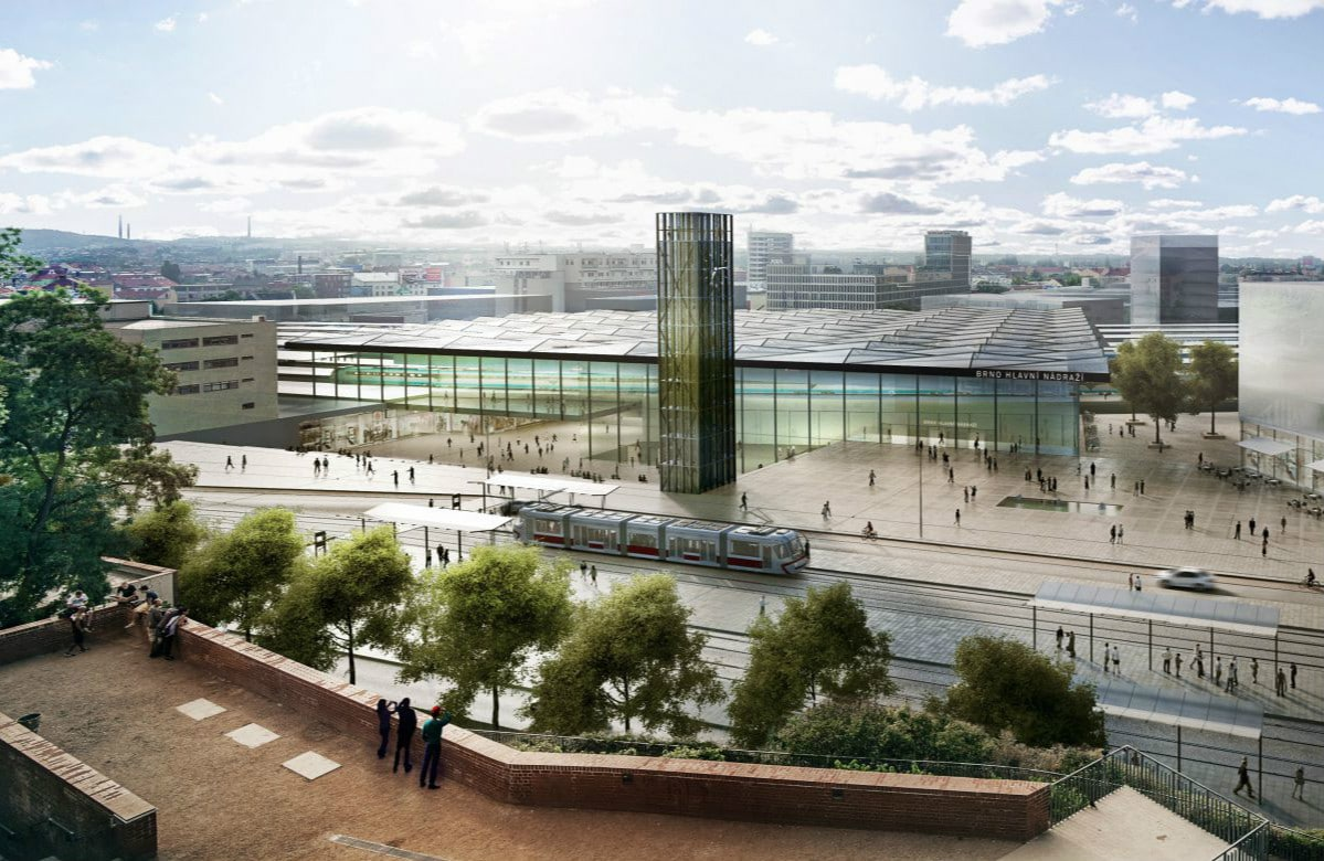 Brno's New Main Train Station to be Named Šalingrad