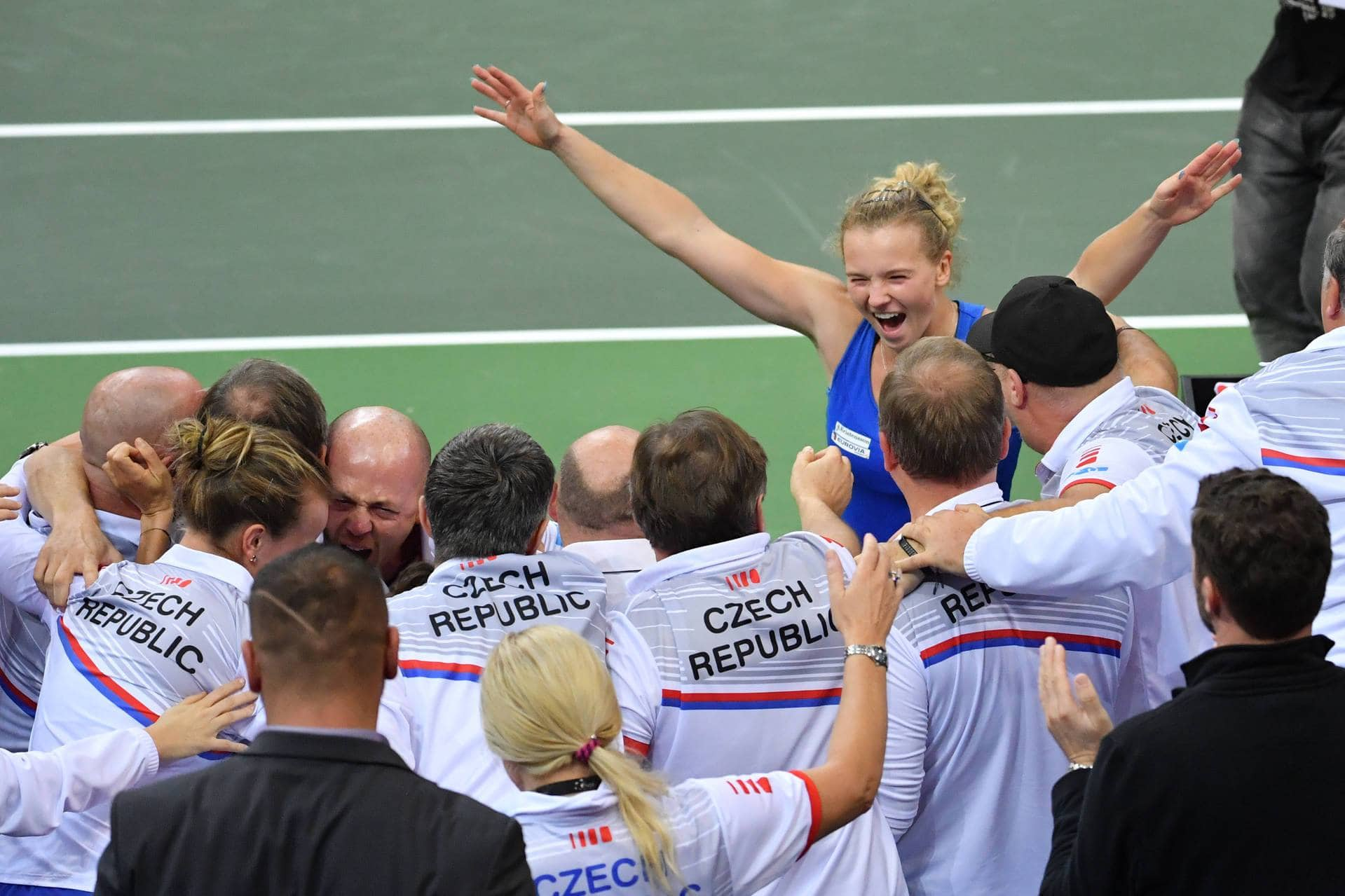 Czech Republic Tops USA to Win 2018 Fed Cup