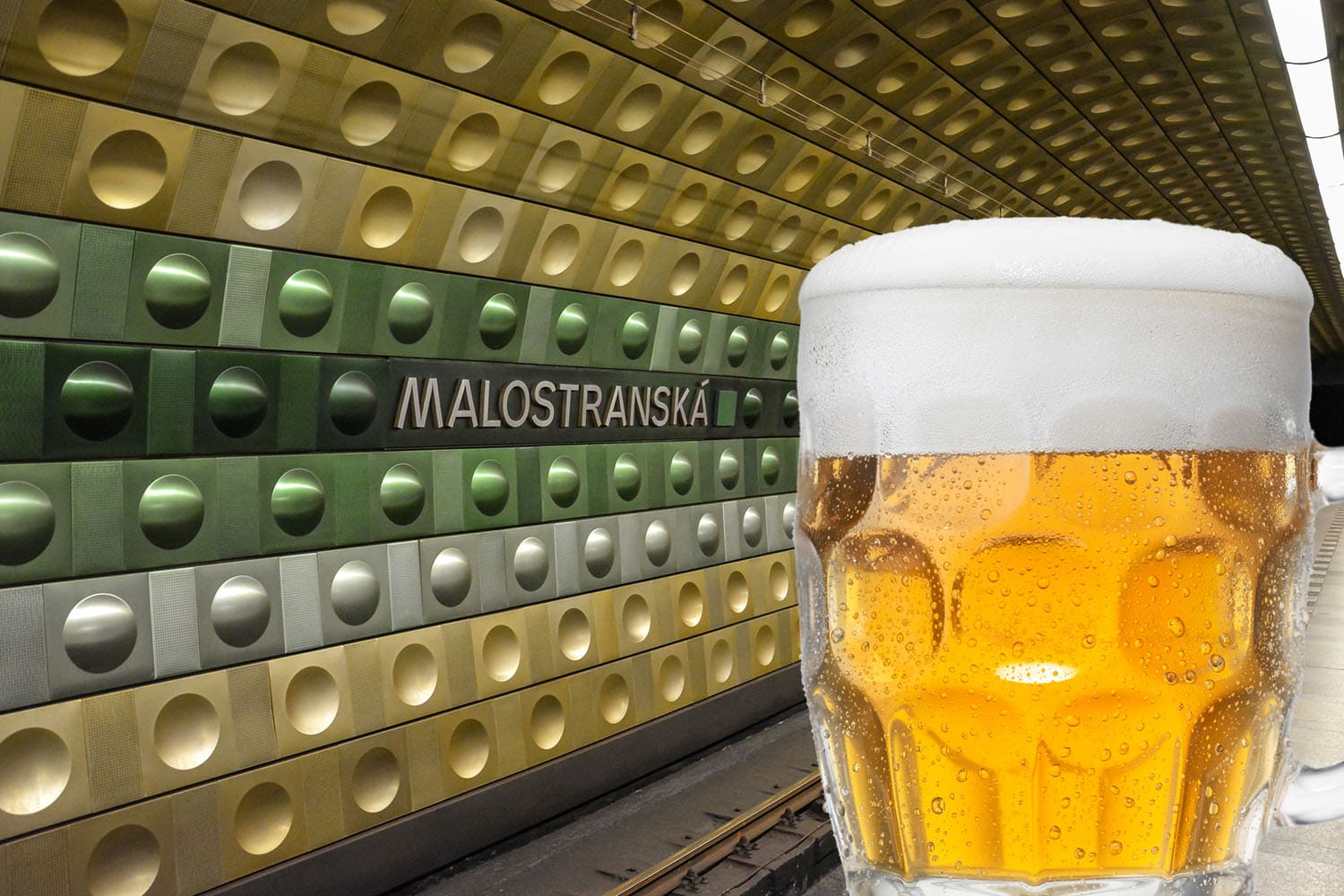 Prague metro drinking game to debut this Friday