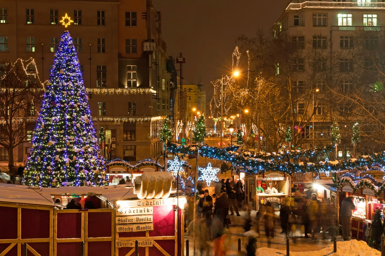 Christmas Markets return to Prague starting tomorrow, November 20!