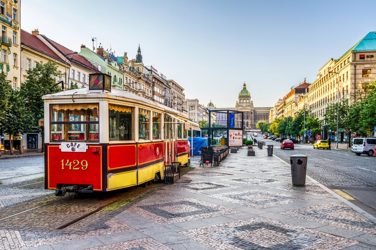 Confirmed: trams are coming back to Prague's Wenceslas Square