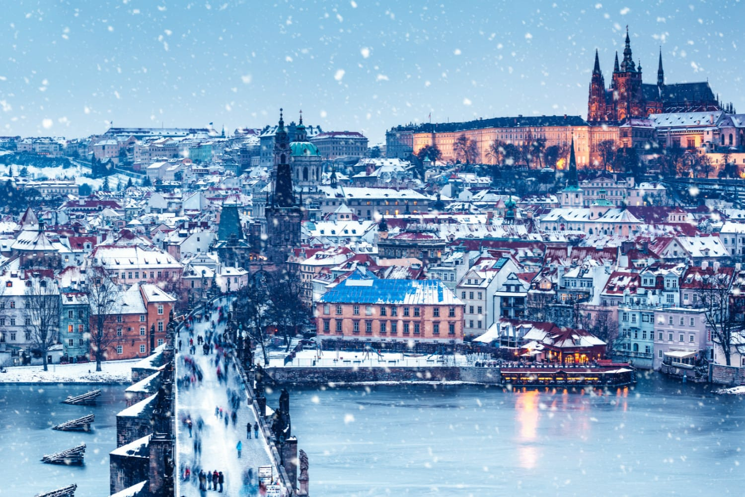 First snowfall of the 2018-19 season predicted for Monday in Prague