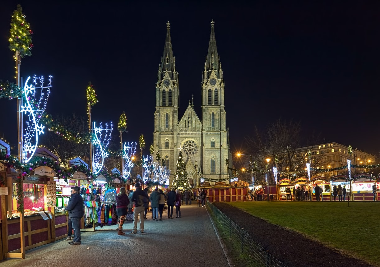 Prague is among the world's top 10 Christmastime destinations