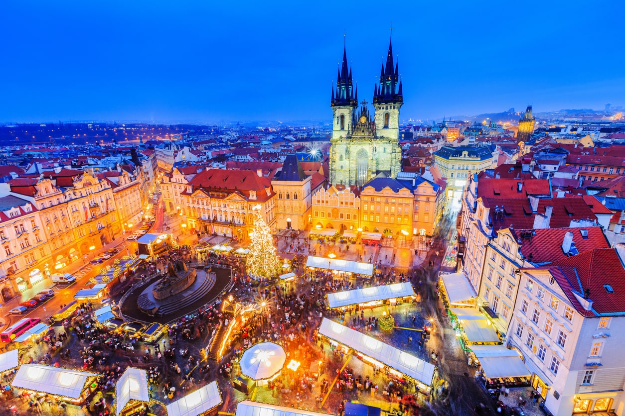 Prague Christmas Markets voted among Europe's top 10
