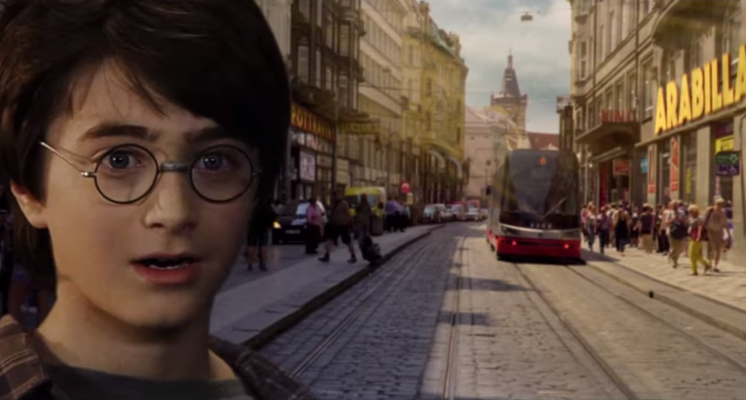 VIDEO: What if Harry Potter was from Prague?