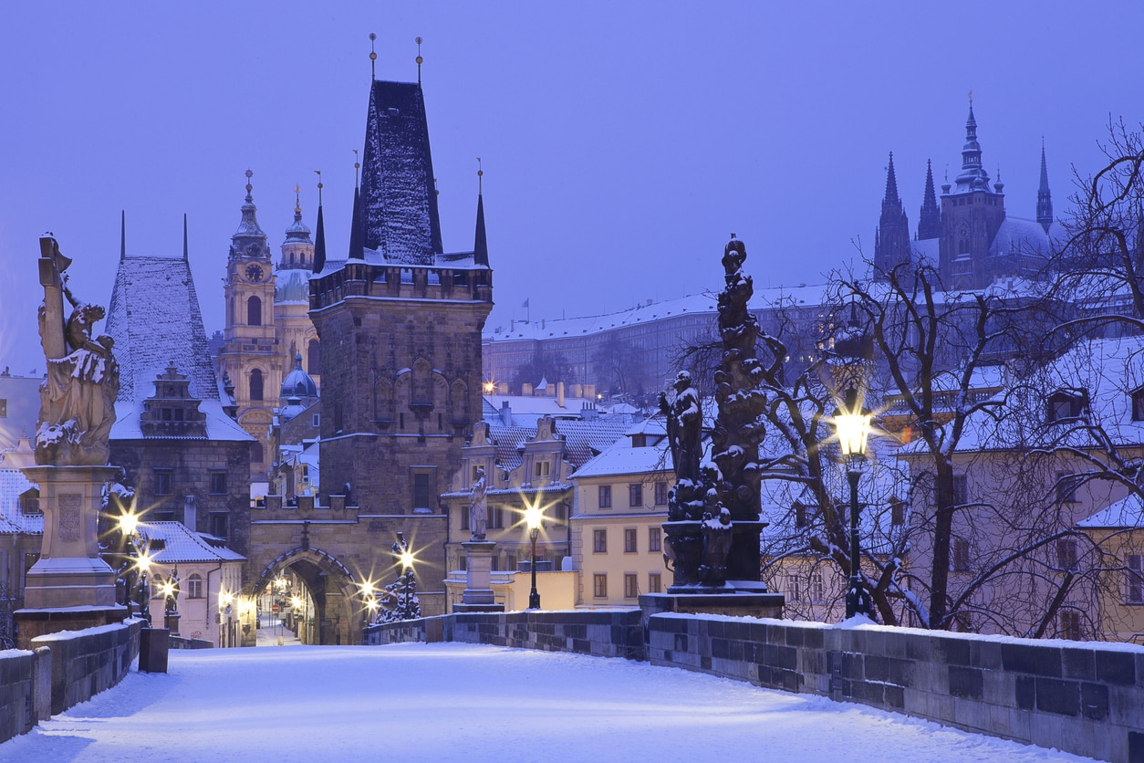 GALLERY: 14 pictures of a snowy Prague that will have you dreaming of a White Christmas