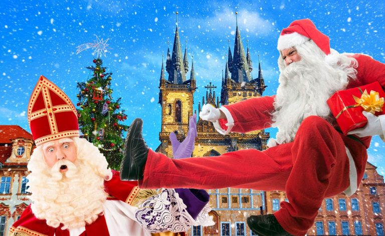 Santa Claus has overtaken Mikuláš in Czech Christmas advertising