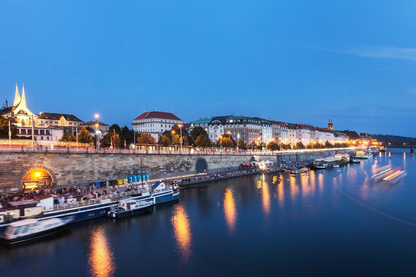 Initial renovations on Prague's Náplavka embankment to be completed this spring